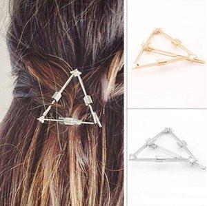 Mode haarspangen Gold / Sivler Überzogene Haarspangen Brand New Fashion Frauen Punk Geometrische Dreieck Pfeil Haar Schmuck Großhandel SHR435