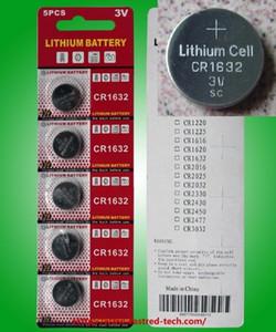 5000PCS (1000cards) CR1632 3V الليثيوم عملة خلية البطارية، وخلايا زر 100٪ جديدة