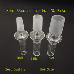 Conos Cuarzo Banger Boquilla Filtro Nails Domeless 10/14 / 18mm Consejos de goteo masculino para fumar Bongs de vidrio Tuberías Herramientas Plataformas de petróleo Cachimbas