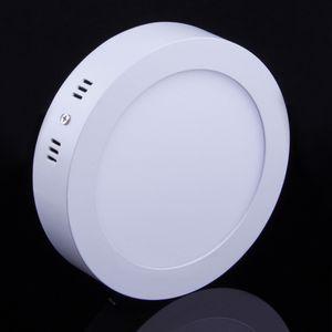 20pcs 6W 12W di 18W LED montato superficie del pannello luci LED Downlights Facile da installare caldo / naturale / bianco freddo AC110-240V Surface Mounted