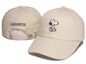 2016 Karikatür Snoopy Fıstık Snapback Şapka Trucker Saçakları Kap AŞK figureBird balık Nakış Comic Beyzbol Şapkaları Kemik Golf Şapka Gorras Chapeau