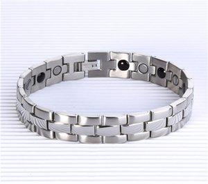 2017 Livraison Gratuite 4 en 1 Bio Santé bracelet avec germanium aimant infrarouge Ion énergie Santé Magnétique Thérapie