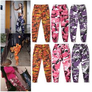 Calças Camuflagem Calças Hiphop Camuflagem Calças de Rua Hiphop Estilo Militar Dos Homens Das Mulheres Casuais Calças Esportivas Adolescente Moda Streetwear