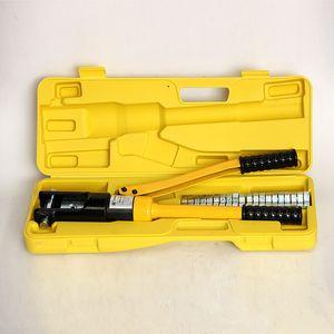 ручные гидровлические гофрируя плоскогубцы YQK-240 или YQK-300 струбцины холодной давления стержней меди и алюминия щипцов кабельного зажима инструмента гидровлические
