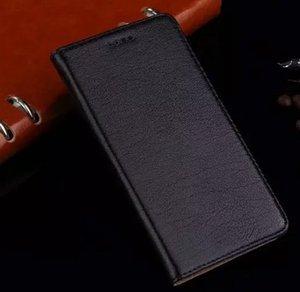La alta calidad para la cubierta del caso de Xiaomi Mi4 delgado Marca de lujo original del tirón de silicona de colores caja de cuero genuino para Xiaomi 4 M4 Mi4