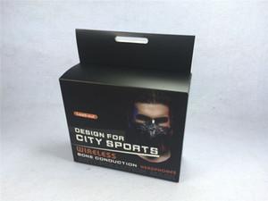 Yeni Kurşun Spor Maske + Kablosuz Kemik Iletim Kulaklık Bluetooth 4.0 açık Spor için Kablosuz Kulaklık spor maskesi DHL Ücretsiz