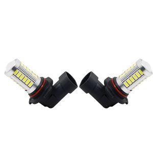 2PCS الأبيض السيارة 12V 9006 / HB4 33SMD 5630 LED ضوء الضباب لمبة مصباح # 4373