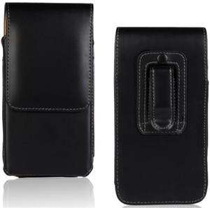 Cintura per cintura verticale in pelle per ufficio Tradesman Workman Pouch Cover per telefono cellulare 3.8-5.8inch Iphone 6S Plus