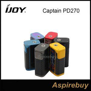 IJOY Captain PD270 TC BOX MOD с 2 чистыми батареями iJoy 20700 234 Вт NI / TI / SS TC Box Mod 6000 мАм. Box Мод. Новые модные цвета. 100% оригинал.