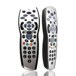Télécommande de remplacement universelle de haute qualité de télévision pour Sky + HD Rev9 Sky HD argent + noir 100pcs / lot livraison gratuite