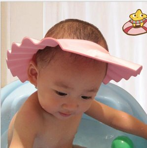 Christmas Eva Baby Safe Shampoo Shower Bath Protection Soft Caps Baby Hats for Kids 0-6 Years Sanitary Bathroom Accessories