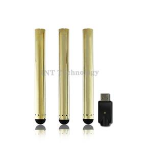 Золото vape USB зарядное устройство vape нет кнопки Vape bud сенсорный стилус ecig 280mah авто o pen аккумулятор для масла атомайзер-03