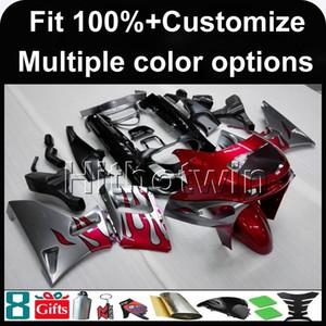 23colors + 8Gifts stampo ad iniezione moto rossa cappuccio per Kawasaki ZZR400 93 94 95 1993-2007 96 97 98 99 00 01 02 03 04 05 06 07 ABS carenatura
