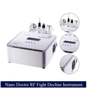 2016 Mais Novo Máquina de Mesoterapia Sem-Agulha Com Galvanic RF Derm Caneta De Refrigeração 4 Em 1 Multifuncional Agulha Dispositivo Mesoterapia Livre