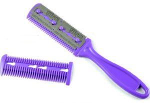 24 pièces / lot peigne de rasoir de cheveux de qualité supérieure pour les cheveux coiffant salon / familles cheveux amincissement peigne