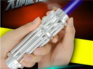 HEISS! Leistungsstärkste Military 100000m 450nm High Power Blue Laser Pointer Taschenlampe Wicked LAZER Torch Jagdunterricht