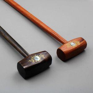 Vietnam natural wood hammer knock back massage device health Phoebe wood Meridian hammer solid wood
