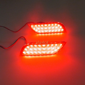 Auto LED Bremsleuchten + Nacht-Lauflicht Fall für Subaru Impreza WRX, WRX STI 5-Türer Wagon 2007 ~ ON, XV Crosstrek 2013 ~ ON etc