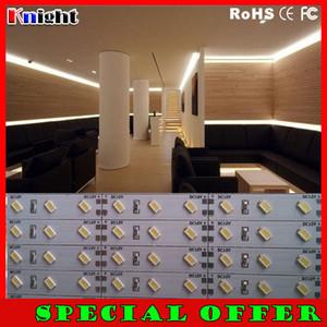 500m çok 5630/5730 LED Sert Şerit Işık Çubuğu Lambası 12 v led şerit bar SMD5630 sert çubuk özel teklif Kabine Aydınlatma altında Sıcak Soğuk Beyaz