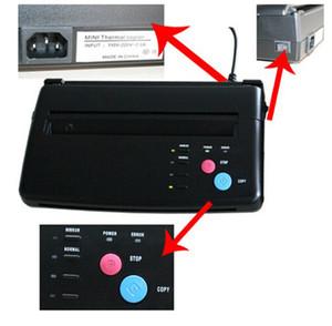 آلة نقل الوشم آلة النسخ الحرارية آلة الاستنسل الوشم استنسل نقل A4 الوشم النخاع الحراري الاستنسل