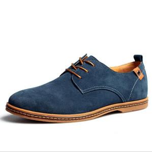 Großhandel -2017 neue Mode Stiefel Sommer kühlen Winter warme Männer flache Schuhe niedrig, um lässig Oxford Schuhe f