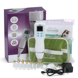 Máquina home portátil de Microdermabrasion do diamante do uso para o equipamento de Dermabrasion da casca da pele Máquina facial do diamante da remoção da cabeça preta da acne