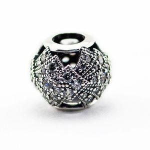 Perlen passt für Pandora Schlange Kette Armbänder Halskette 100% 925 Sterling Silber Perlen Oriental Fan Openwork Charme Mädchen Geschenk 2016 neue Sommer