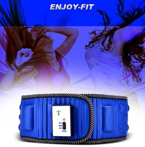Vente au détail 1 pc Vibro forme vibration chauffée ceinture multinationale masseur ceinture amincissant ceinture douleur au dos taille masseur