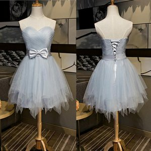 Sexy Sweetheart Short Prom Dress Vestido De Festa Cheap Price Evening Party Geart Tulle Party Dresses Party Elegant