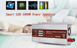 Intelligente LED-Anzeige 1000W / 1KW modifizierte Sinus-Wechselrichter-Konverter-Ladegerät-Auto DC 12V zu Wechselstrom 220-230V Konverter + USB 5V / 1A