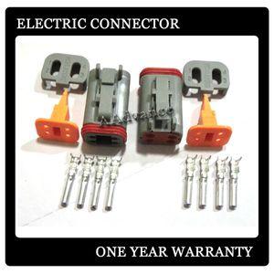 Deutsch DT series connector 4 way Female Electrical Wiring Connectors المقابس Kit