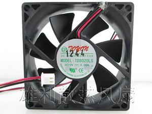 Estrenar 12V original de ventilador dispensador 0.08A 8CM 80 * 80 * 20MM TD8020LS 2 de agua en línea ventilador silencioso