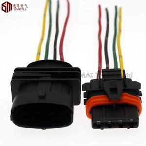 Plugue de 4Pin ECU 3.5mm auto, auto conector impermeável para o conector do carro de Bosch, para BMW, Audi, VW etc.