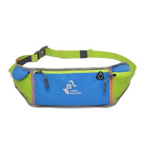 2017 Nuevos bolsos de gimnasio de moda de primavera que ejecutan el bolso de la cintura airhole de nylon impermeable del teléfono envío gratis