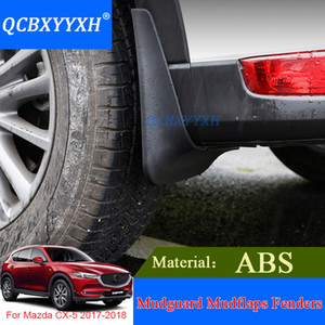 4 adet QCBXYYXH Araba Styling Çamur Flap Sıçrama Guard Çamurluk Çamurluklar Için Çamurluklar Perfector Dış Dekorasyon Mazda CX-5 2017 2018