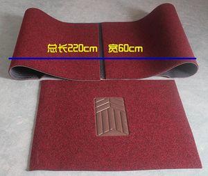 DIY libre para cortar esteras del piso del coche esteras de giro sin olor verdes esteras del coche traje de seda del césped 50-1a 2072 5 unids una bolsa