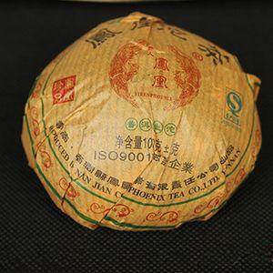100 g crudo Puer de Yunnan Marca Phoenix TuoCha la torta del té de Puer Orgánica Pu'er Viejo verde del árbol del té de Puer Natural Puerh
