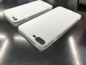 Matte weicher TPU Fall für Iphone 7 Plus-Iphone7 7PLUS 7G mit Staub-Stecker Klar bereifte Silikon-Gel-Gummihaut-Abdeckung Celular Handy Luxus
