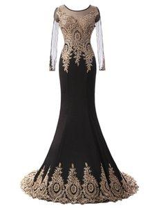 Elegante Vestido De Festa Kristall Perlen Pailletten Scoop Mermaid Abendkleider Satin Promi Porm Party Kleider Vestido Longo