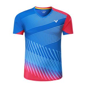 뉴 빅터 배드민턴 셔츠 남성 / 여성, 배드민턴 착용 티셔츠 3073