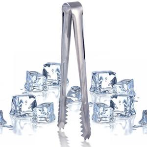 300pcs nuovo acciaio inossidabile barbecue bbq clip pane cibo ghiaccio morsetto strumento tong ghiaccio bar accessori per la cucina all'ingrosso ZA0794