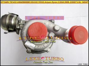 Turbocompresseur de turbo de GT1549V 761433-5003S 761433 761433-0003 A6640900880 pour SSANG YONG, Actyon, Kyron 2.0Xdi 2006- D20DT 2.0L 140HP