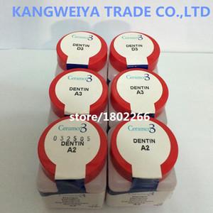 Ceramco 3 Dentin Porcelana Powder A1 A2 A3 A3.5 A4 .... Etc.28.4g Envío gratis