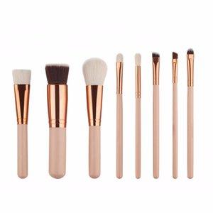 Profesional 20 Unids Set de Brochas de Maquillaje Foundation Eyeliner Eyeshadow Mascara Lip Cosmetics Make Up Brush Tools Kits