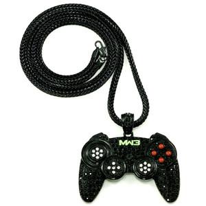 Nuovo arrivo Iced Out Nuova collana di pendenti per controller di gioco con catena a catena stile Franco da 36 pollici HQ