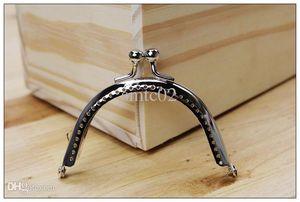 YY 8.5cm argento semicerchio monete borsa cornici metallo bacio fibbia borse fabbricazione di forniture fai da te 20 pz / lotto