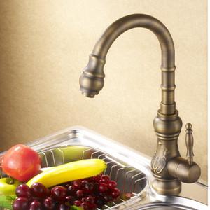 en laiton cascade salle de bain évier de cuisine facuets poignée unique monotrou impression cuisine plus complète robinet pour la décoration de la maison