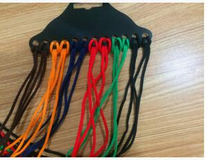 Eyeglasses цепи высококачественные качественные солнцезащитные очки плетеный нейлоновый шейный шнур Струна ремешок ремешок держатель очков