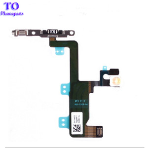 Nuovo cavo di alimentazione On Off Flex Cable per iPhone 6 6G 6 Plus Mute Volume Switch Connettore Parti del nastro