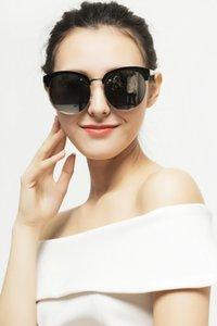 Yeni gelgit marka büyük çerçeve güneş gözlüğü retro marka moda kadın güneş gözlüğü üreticileri toptan indirim güneş gözlükleri HB216 V